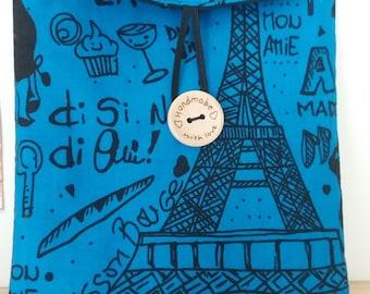 Fabric Kindle cover, Kindle, Kindle Fire, Paris, Kindle case, ebook holder