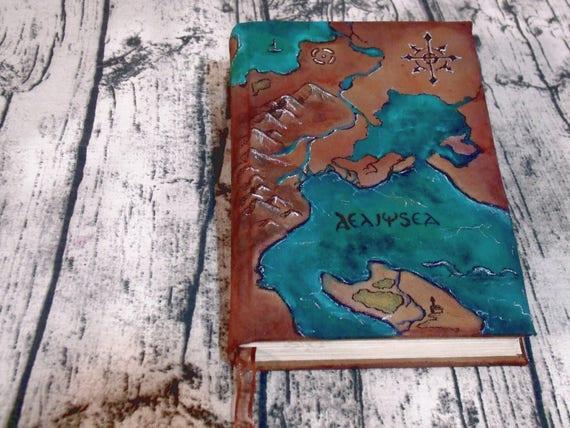 Karte 300p von hand bemalte leinwand journal malte etsy - Bemalte leinwande ...