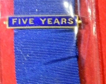 Association Of Conservative Clubs 5 Year Distinguished Service Queen & Country