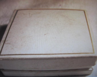 antique ring box for size 6 or smaller...book shape