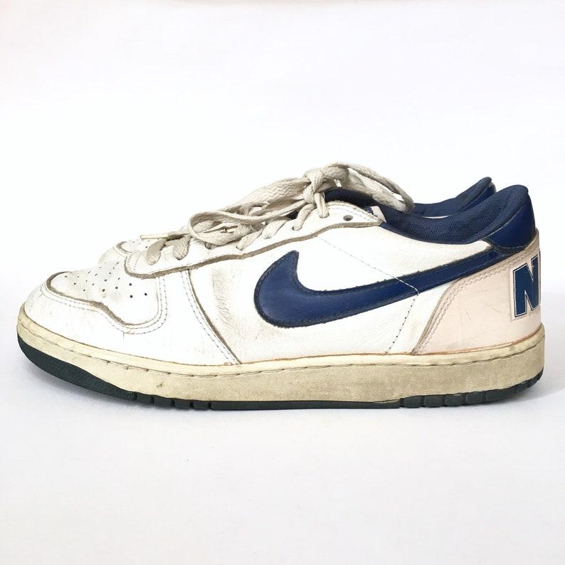 80er 8 Weiß Königsblau Terminator Jordan Große Vintage Pre 1983 Jahre Niedrigen Und 5 Nike Sneakers Größe Top Basketball BexodC