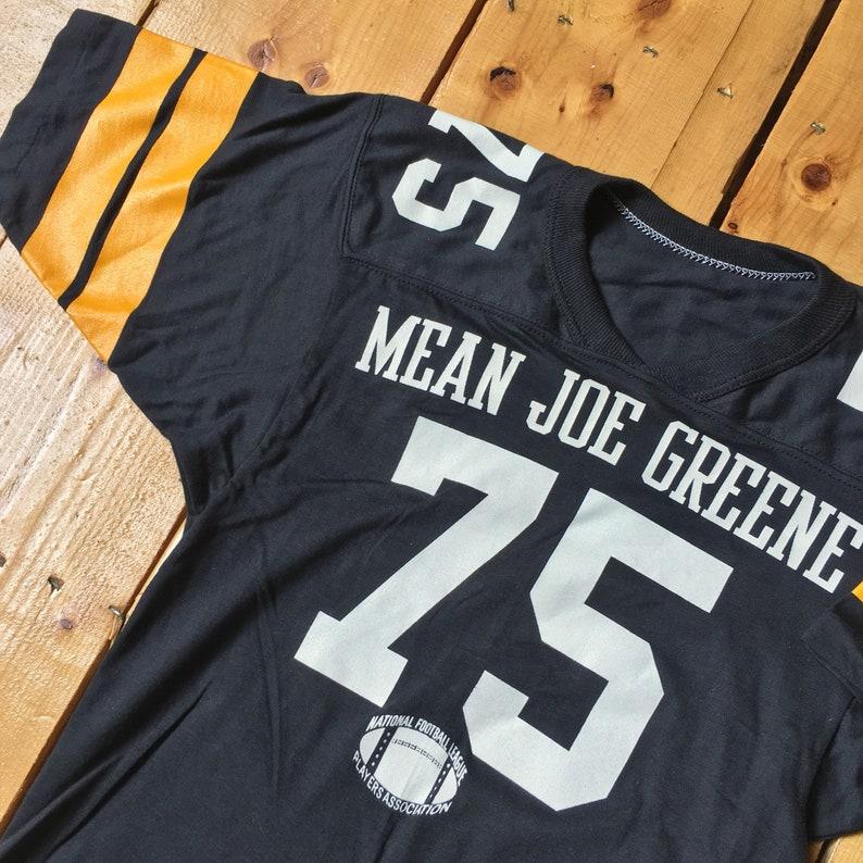 8f1fa318a Vintage 1970s Mean Joe Greene Pittsburgh Steelers NFL Russell