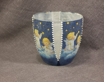 Tea light holder glass tea light holder glass candle holder glass tea light candle holder tealight