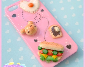 Iphone 5/5s case cute and sweet kawaii fake food