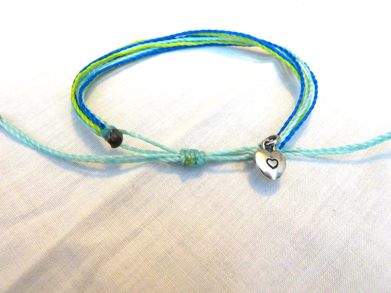 fade proof summer jewelry water proof Adjustable Cord Friendship Bracelet Boho Free Shipping
