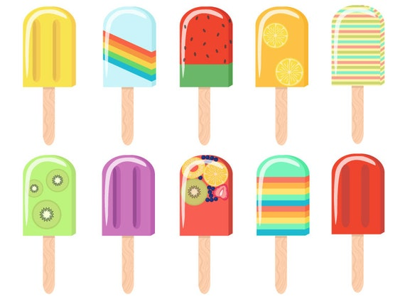 popsicle digital clip art rh etsy com popsicle clipart black and white popsicle clipart free