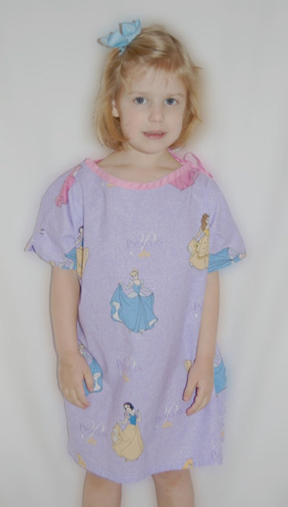 PDF Sewing Pattern Child Hospital Gown | Etsy