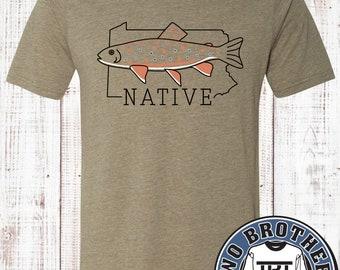 Pennsylvania Native Trout T-shirt