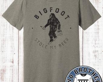 Bigfoot Stole My Beer T-shirt