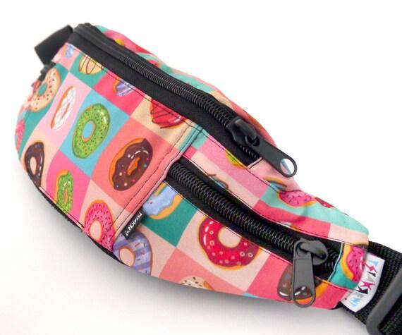 Hip Bag Fanny Pack délicieux beignets, couleur sac banane chien sac Psiakrew, sac de hanche maman chien, idée cadeau amoureux de chien