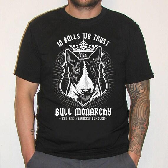 English bull terrier t-shirt pet cadeau colombie