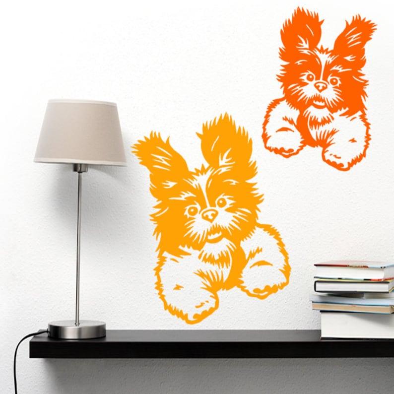 Shih Tzu Aufkleber verrückter Hund, Vinyl-Aufkleber - gut für Wände, Autos,  Ipads, Spiegel etc.