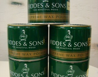Fiddes & Son's Supreme Wax Polish 500ml/16 fl oz.