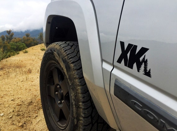 Jeep Commander Xk Decal Etsy