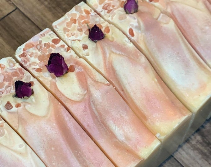 Citrus Rose   l   Coconut Milk Soap   l   Moisturizing   l   Essential Oils   l   Natural Soap   l   NEW LARGER SIZE