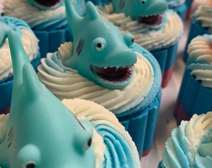 Shark Bath Bombs * Squirt Toy * Fun Bath Time * Great Gifts  *  Ocean Theme Bath Bombs  *  JAWS