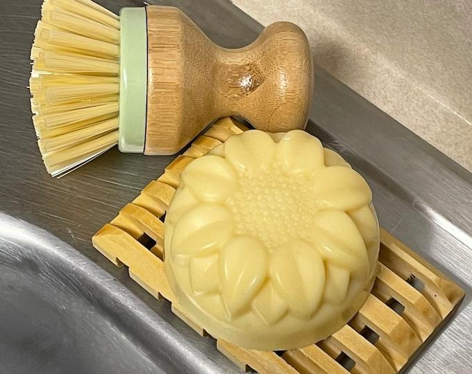 Solid Dish Bar  *  Natural Soap  *  Dishes  *  Vegan  *  All Natural Soap  *  Eco-Friendly  *  Plastic Free