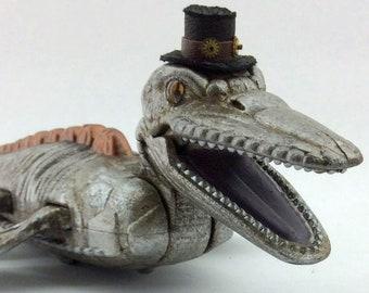Drax - Swimming Steampunk Liopleurodon (Sea Monster)