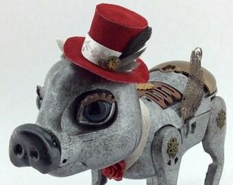 Vivette - Interactive Steampunk Pig