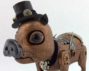 Igor - Interactive Steampunk Pig