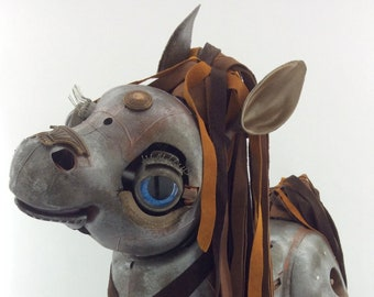 Viderian Sparks - Large Interactive Steampunk Horse