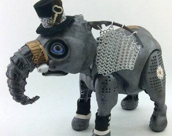 Dalton Bronzefield - Interactive Steampunk Elephant