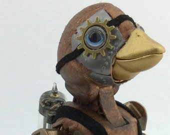 Gulley - Interactive Steampunk Jetpack Penguin