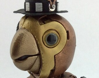 Clinton Eversly  - Interactive Steampunk Parrot