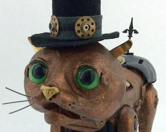 Archibald - Interactive Steampunk Cat