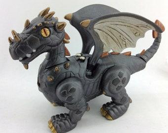 Churmoth - Interactive Walking Steampunk Dragon