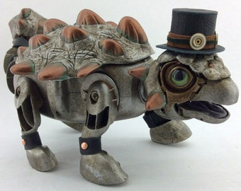 Ravid - Interactive Walking Steampunk Ankylosaur