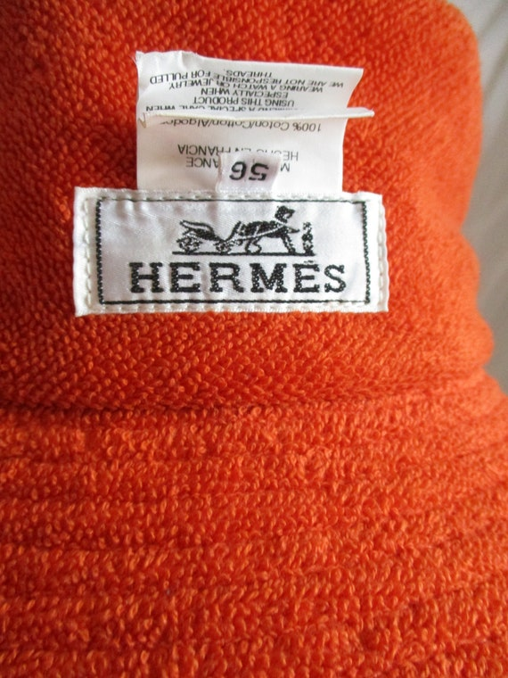 1990 Hermes Bucket Hat Unisex - image 1