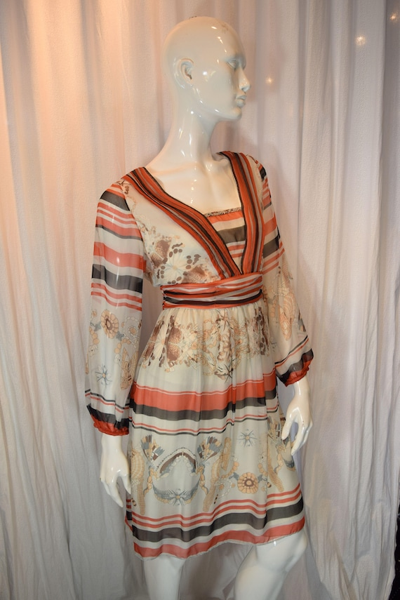 Gucci peasant dress