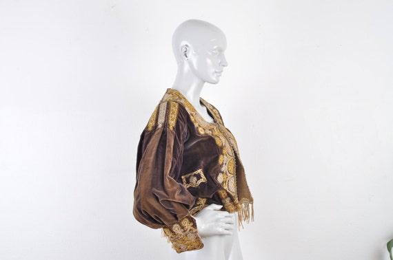 1800's Vintage Bolivia Royal Jacket Embroidered Eq