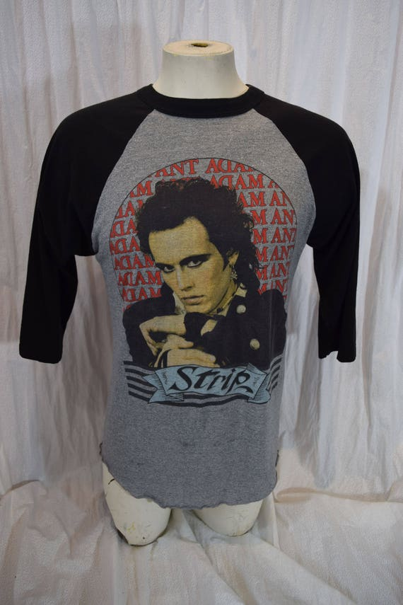 Adam Ant Concert Tee 1984 Punk Rock Strip