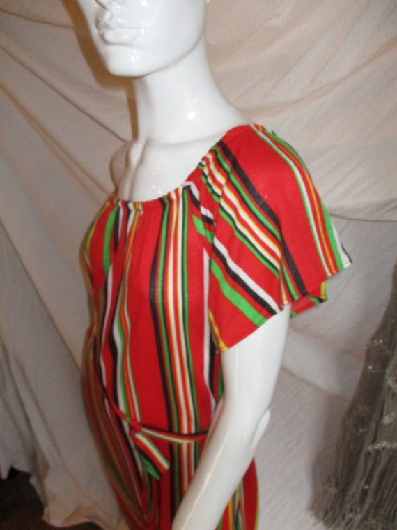 1970's Clovis Ruffin Knit Summer Iconic Designer N