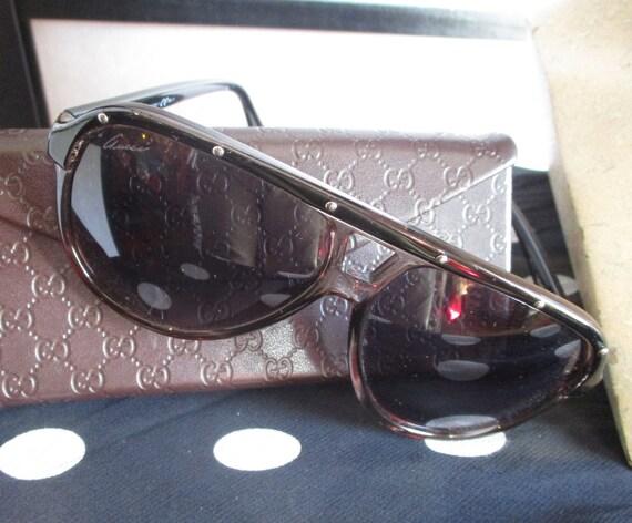 1990s Gucci Tom Ford Aviator Sunglasses
