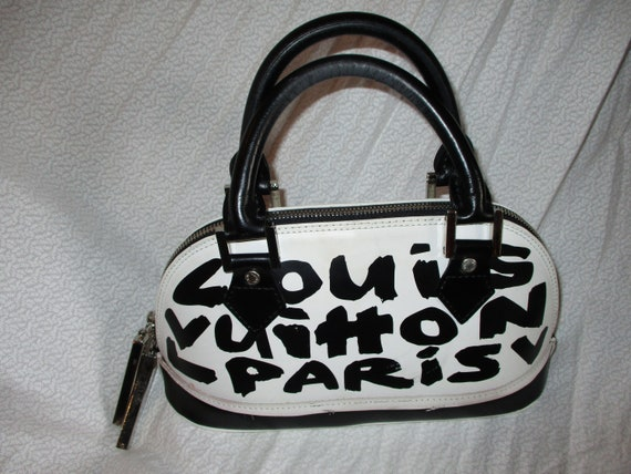 1990 Louis Vuitton Stephen Sprouse Handbag Collabo