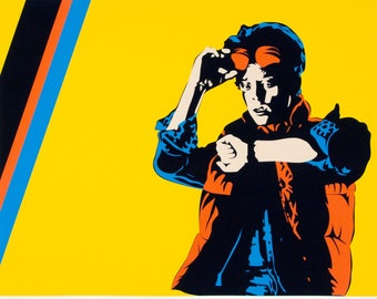Pop Art Print | Back to the Future, Marty McFly