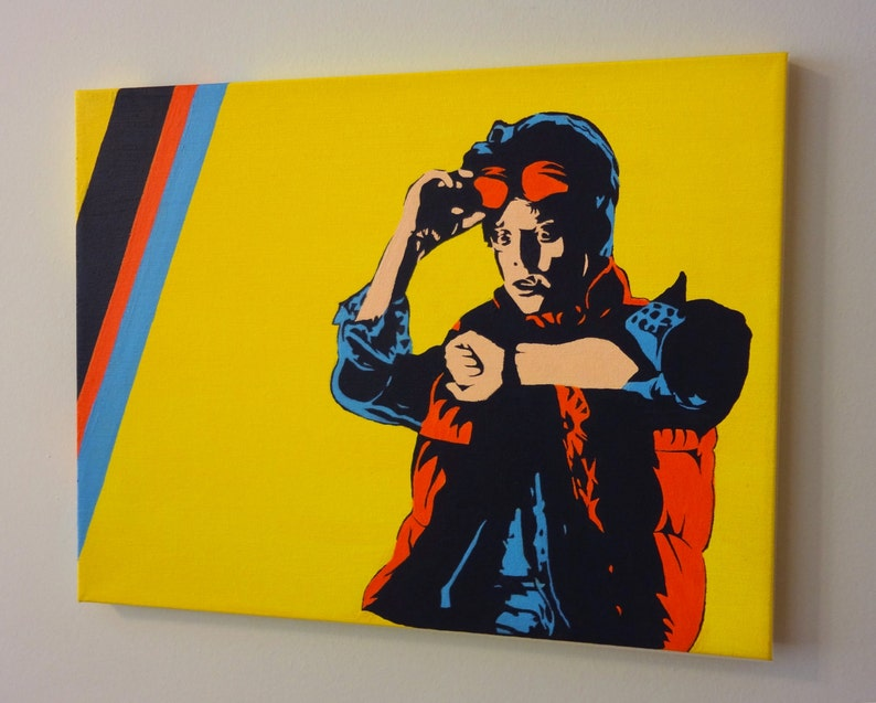Original painting  Marty McFly Back to the Future  Michael image 0