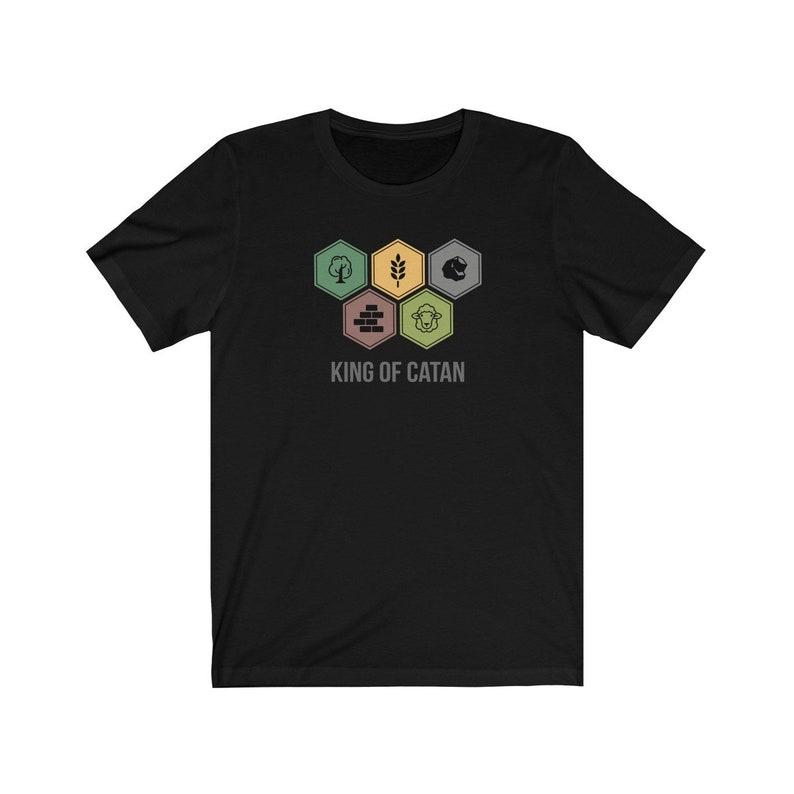 King of Catan Tee  Unisex image 0