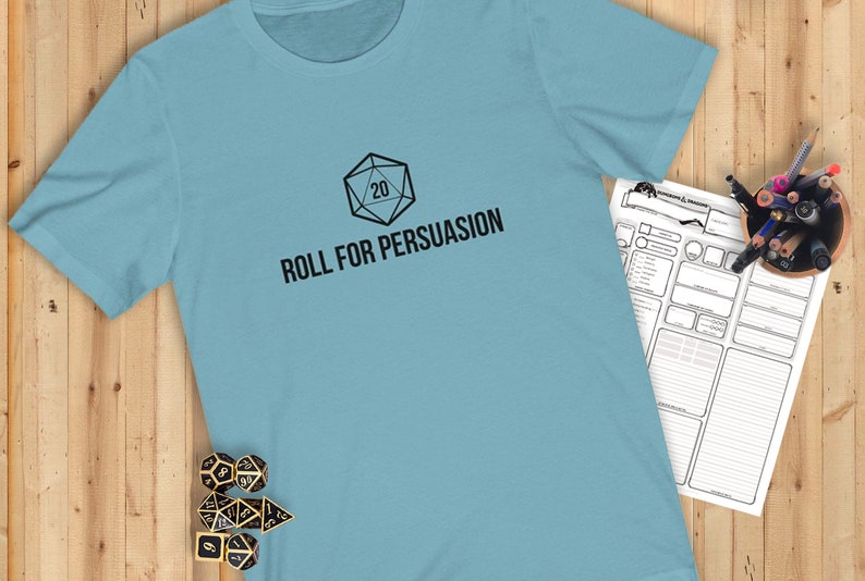 Roll For Persuasion Tee image 0