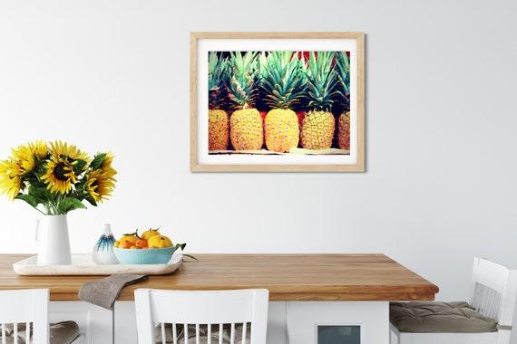 Tropical Pineapple Photo Print, Nicaragua Art, Foodie Gift, Kitchen Decor