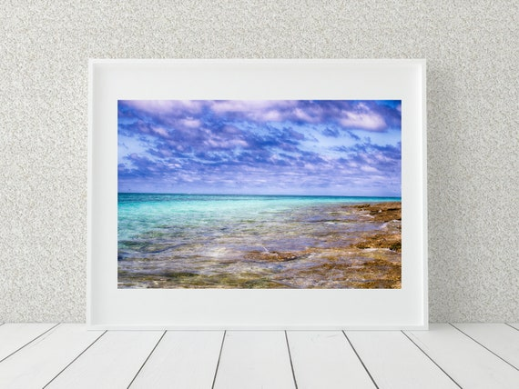 Pastel Beach Photo Print, Australian Photography, Coastal Decor