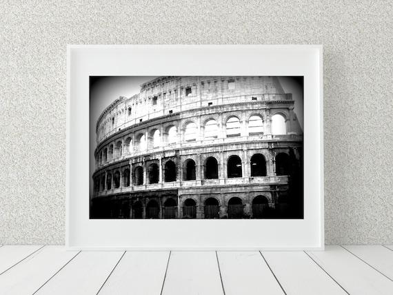 The Colosseum Photo Print, Italy Print, Historic Art