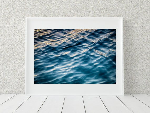 Abstract Ocean Photo Print, Australian Photography, Coastal Decor