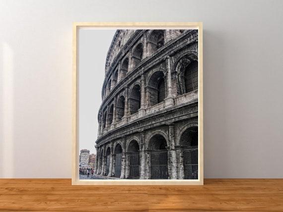 Roman Colosseum Photo Print, Italy Decor, Europe Wall Art