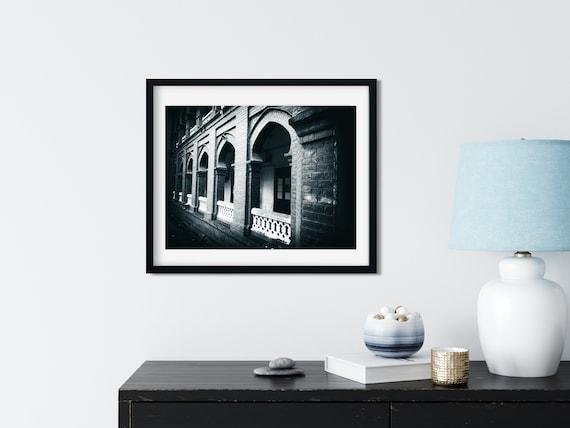 British Colonial Architecture Photo Print, Dhaka, Bangladesh, Building Art