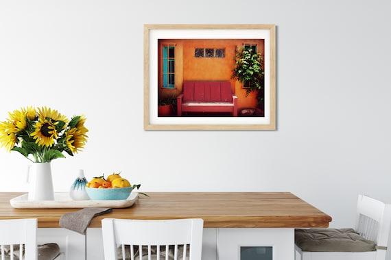 Mexican Bench Seat, Albuquerque, New Mexico, Latina Art