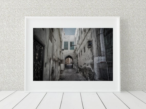 Alleyway Photo Print, Urban Photography , Middle Eastern Decor